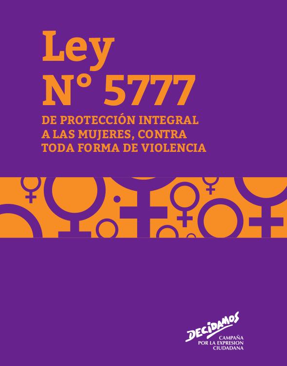 ley nº 5777